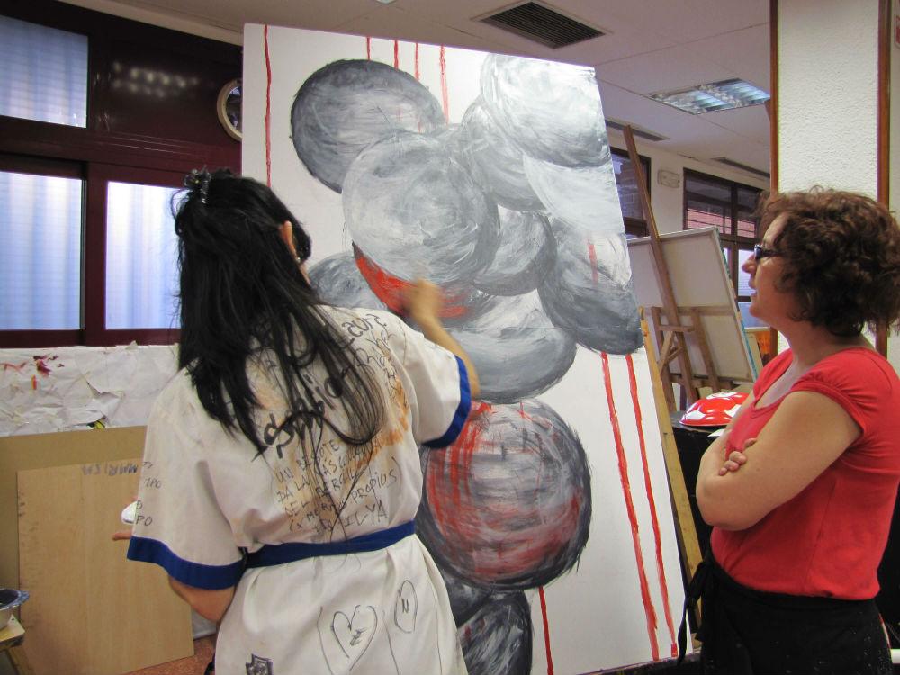 Taller de dibujo y pintura Leganes